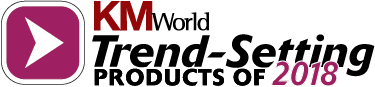 KMWorld Trend setting product 2018