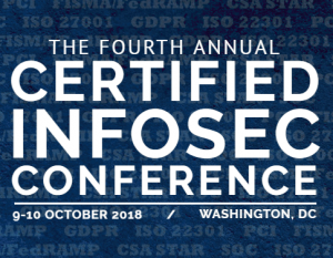 CISC18: global security conference October 2018