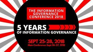 InfoGov Con 2018 logo