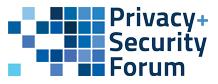 Privacy + Security Forum logo