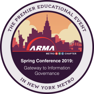 ARMA 2019 Spring Conference Badge