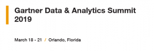 Gartner Data & Analytics Summit