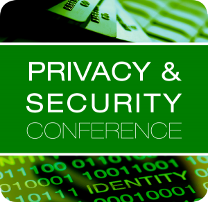 Privacy and Security conference badge