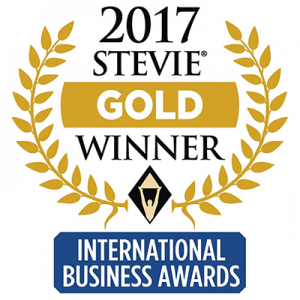 stevie gold 2017 international business awards